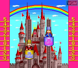 In-game screen of the game IQ Panic on NEC PC Engine CD