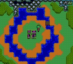 In-game screen of the game Quiz Avenue III on NEC PC Engine CD
