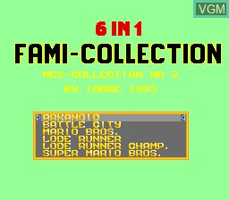 6-in-1 Fami Collection - NES Collection Nr 2