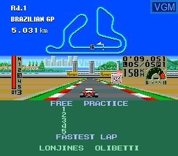 F1 Triple Battle