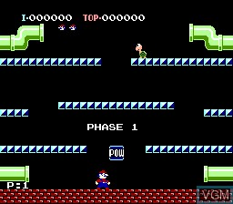 In-game screen of the game 6-in-1 Fami Collection - NES Collection Nr 2 on NEC PC Engine