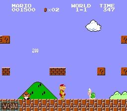 Super Mario Bros for NEC PC Engine - The Video Games Museum