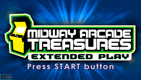 midway arcade treasures extended play psp iso