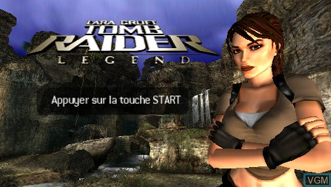 Tomb Raider Legend For Sony Psp The Video Games Museum