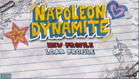 Image result for napoleon dynamite psp screenshots
