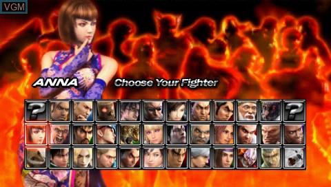 Tekken Dark Resurrection For Sony Psp The Video Games Museum