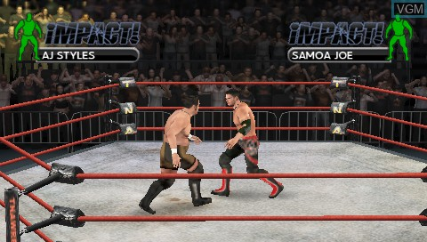 Tna Impact Cross The Line Videos For Sony Psp The Video Games