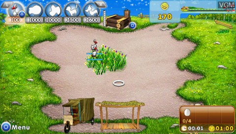 Farm Frenzy for Sony PSP - The Video Games Museum
