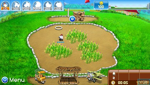 Farm Frenzy - Pizza Party for Sony PSP - The Video Games Museum