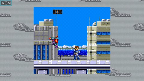 In-game screen of the game Kaizou Chounin Shubibinman 3 - Ikai no Princess on Sony PSP