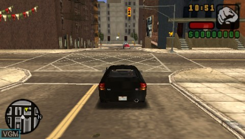 In-game screen of the game Grand Theft Auto Vice City Stories + Liberty City Stories on Sony PSP