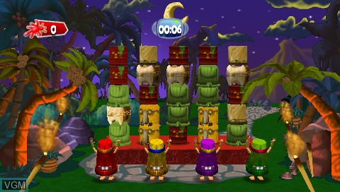 In-game screen of the game 101 in 1 Megamix on Sony PSP