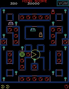Vector Super Pac-Man