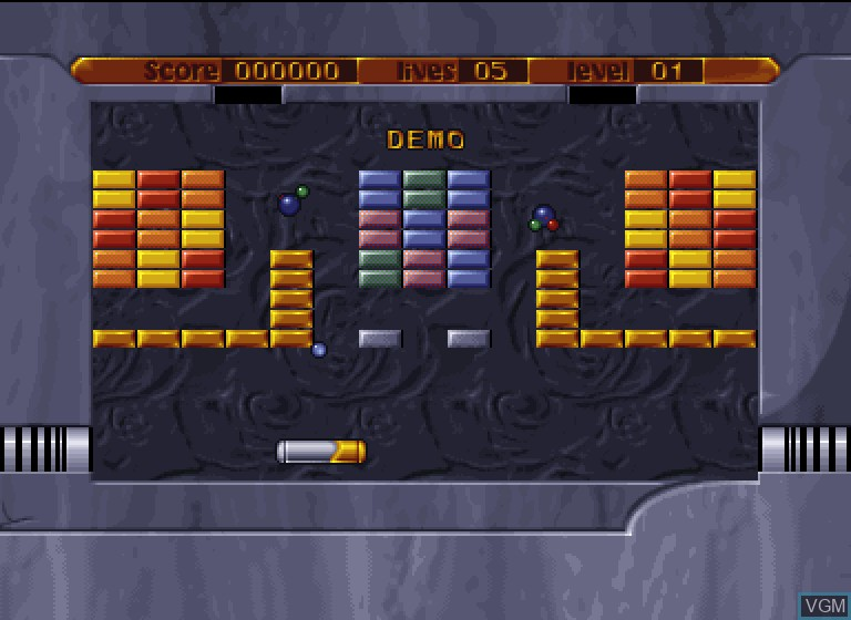 In-game screen of the game Golden Oldies II on Philips CDI