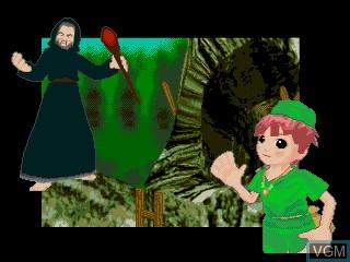 In-game screen of the game Kouchuu Ouja Mushiking - Atsumete Asobou Kouchuu Zukan on Sega Pico