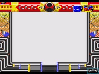In-game screen of the game Ninja Sentai Hurricanger & Hyakujuu Sentai Gaoranger Chou Sentai Super Battle on Sega Pico