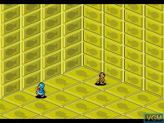 In-game screen of the game Pepe's Puzzles on Sega Pico
