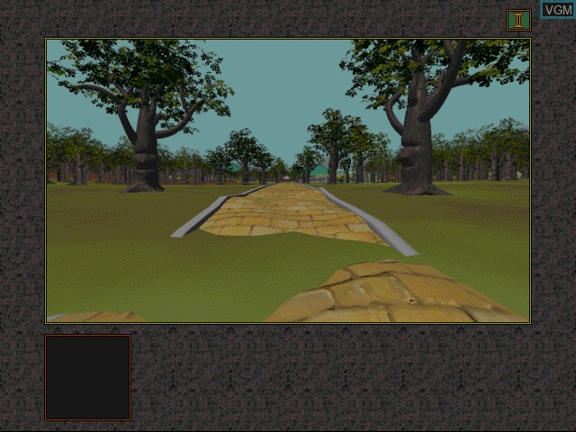 In-game screen of the game Yellow Brick Road I on Apple Pippin