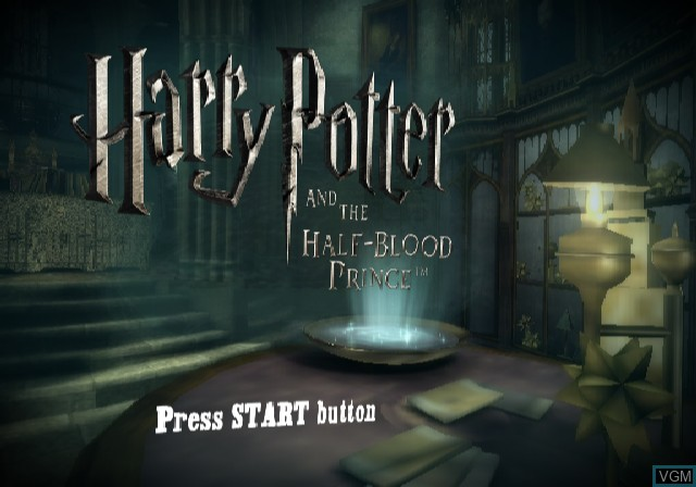 harry potter and the half blood prince for sony playstation 2 the video games museum the video games museum