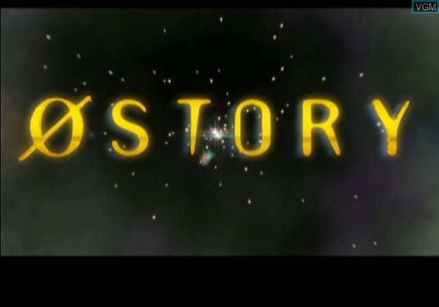 Title screen of the game 0 Story on Sony Playstation 2