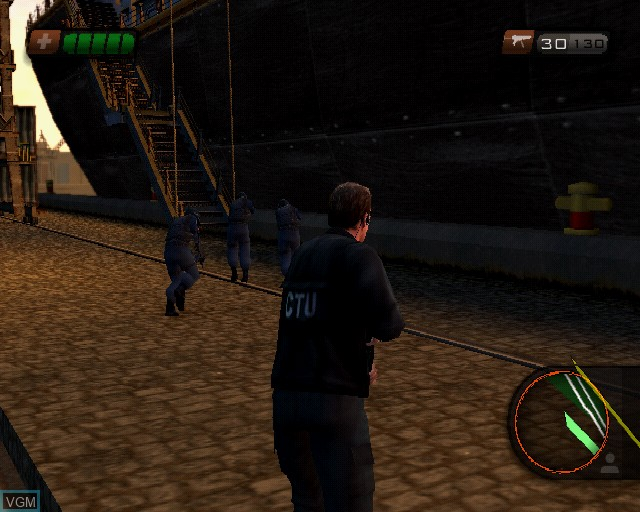 In-game screen of the game 24 - The Game on Sony Playstation 2