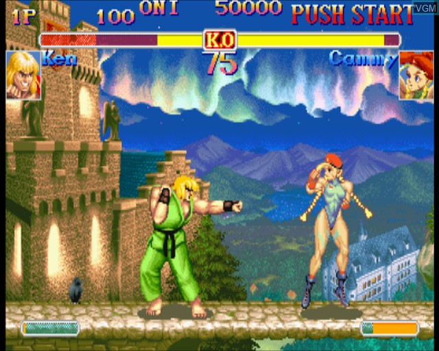 Hyper Street Fighter II - The Anniversary Edition