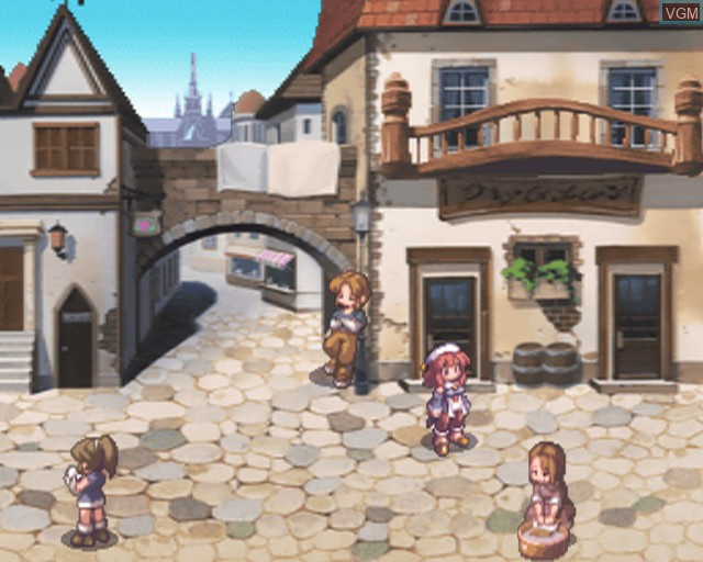 In-game screen of the game La Pucelle - Tactics on Sony Playstation 2