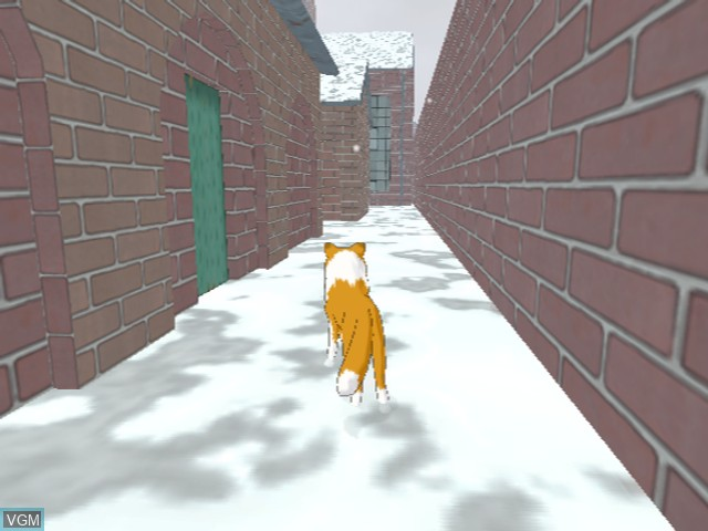 In-game screen of the game Lassie on Sony Playstation 2