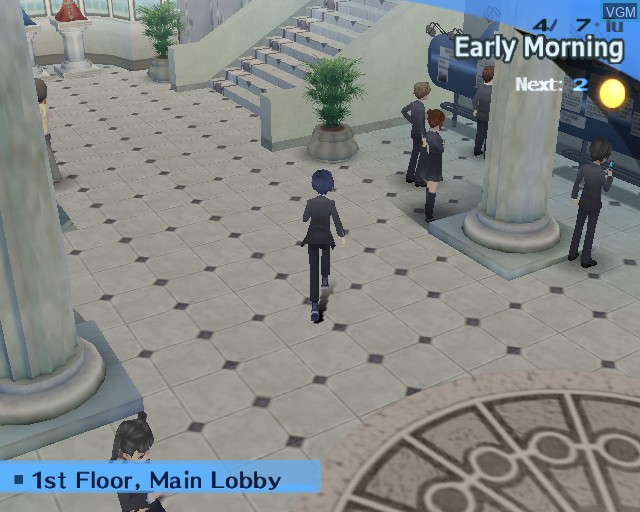 In-game screen of the game Shin Megami Tensei - Persona 3 FES on Sony Playstation 2