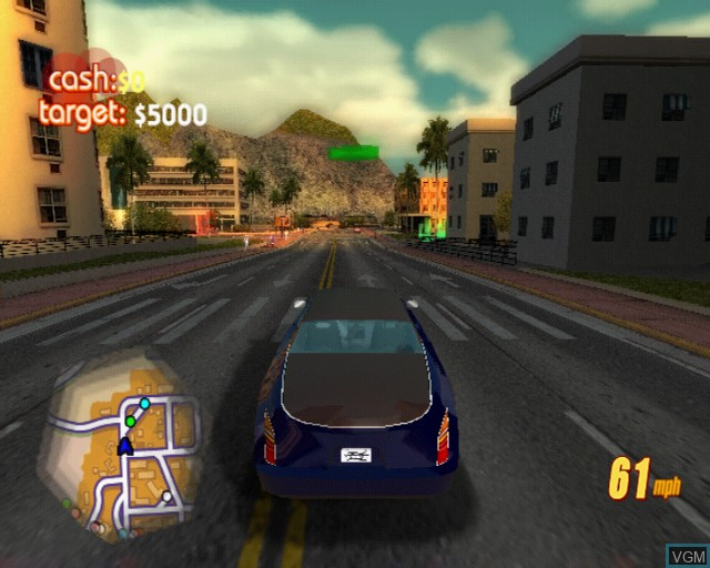 In-game screen of the game Pimp My Ride on Sony Playstation 2