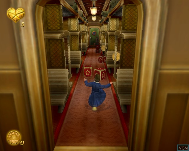 In-game screen of the game Polar Express, The on Sony Playstation 2