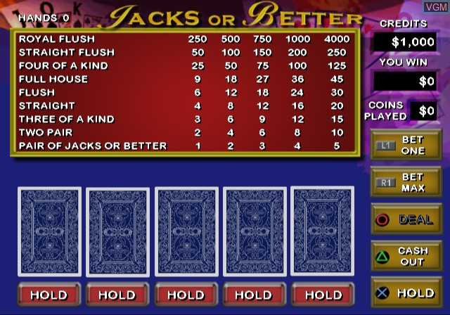 Video Poker & Blackjack