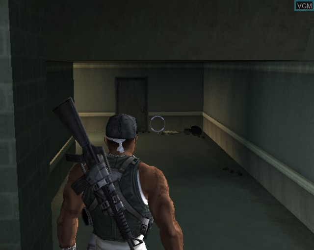 In-game screen of the game 50 Cent - Bulletproof on Sony Playstation 2