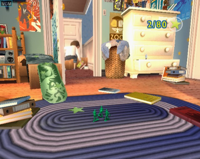 In-game screen of the game Toy Story 3 on Sony Playstation 2