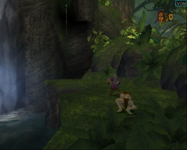 In-game screen of the game Tarzan - Freeride on Sony Playstation 2