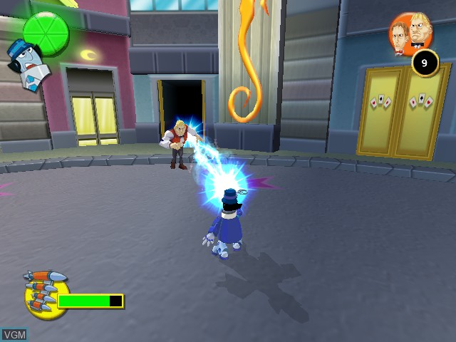 In-game screen of the game Gadget & the Gadgetinis on Sony Playstation 2