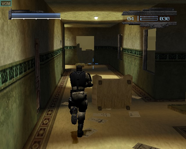 In-game screen of the game kill.switch on Sony Playstation 2