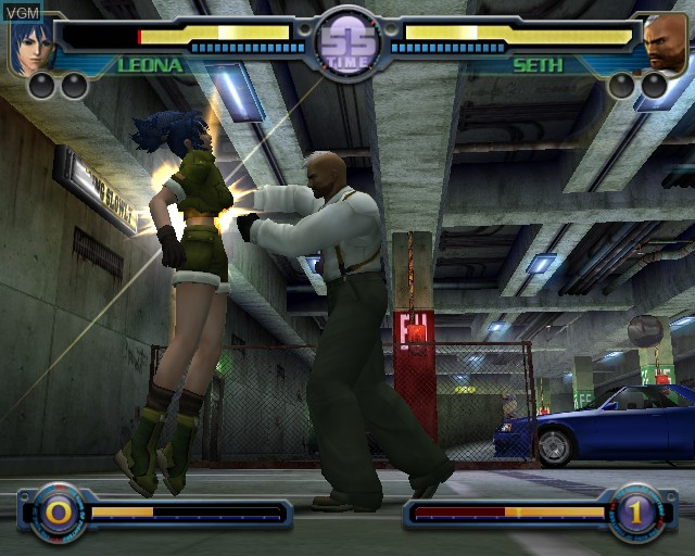 In-game screen of the game King of Fighters - Maximum Impact on Sony Playstation 2
