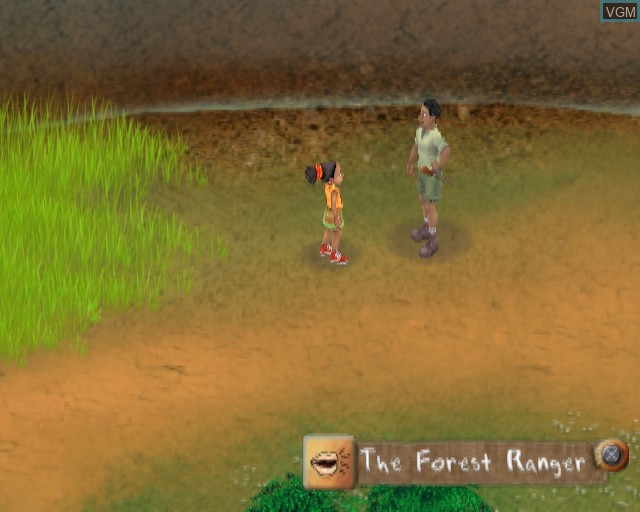 In-game screen of the game Safari Adventures Africa on Sony Playstation 2