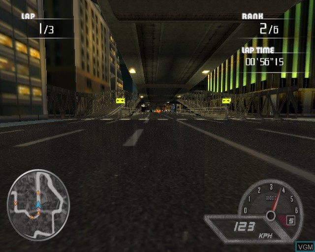 In-game screen of the game Pimp My Ride - Street Racing on Sony Playstation 2