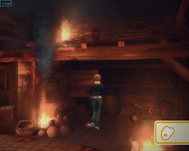 In-game screen of the game Pippa Funnell - Take the Reins on Sony Playstation 2
