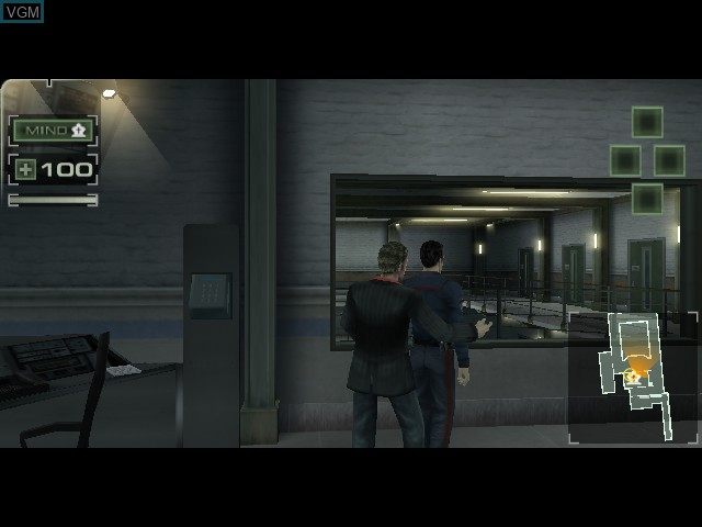 In-game screen of the game Plan, The on Sony Playstation 2