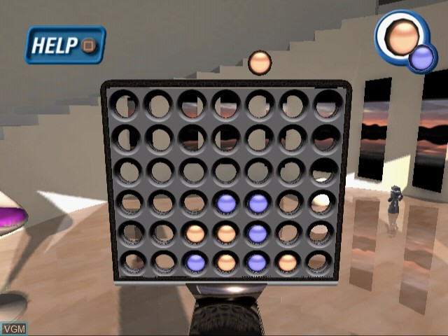 In-game screen of the game Ultimate Board Game Collection on Sony Playstation 2