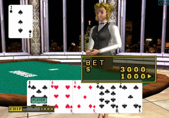 In-game screen of the game Ultimate Casino on Sony Playstation 2
