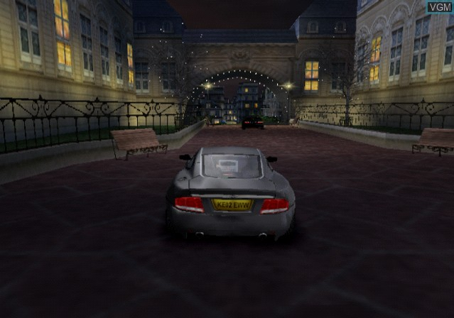 In-game screen of the game 007 - NightFire on Sony Playstation 2