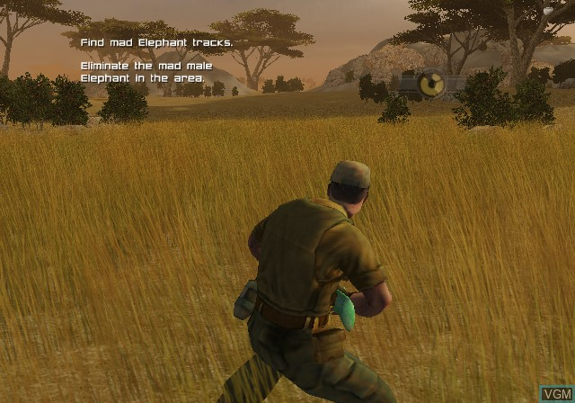 In-game screen of the game Cabela's Dangerous Hunts 2009 on Sony Playstation 2