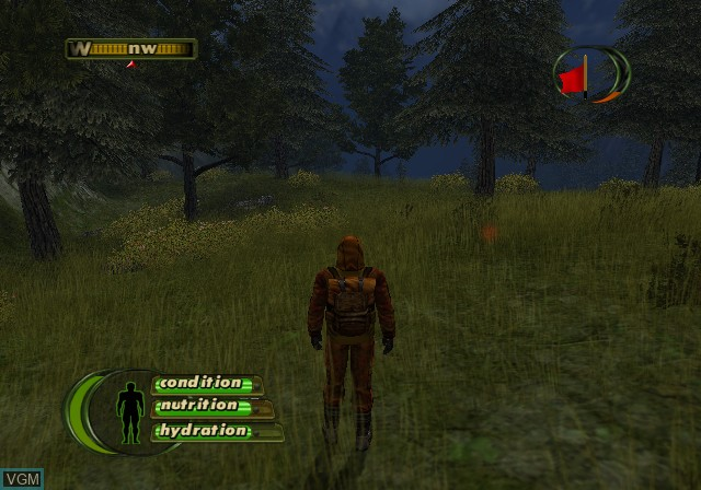 In-game screen of the game Cabela's Deer Hunt 2005 Season on Sony Playstation 2