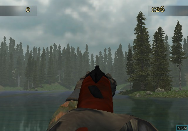 In-game screen of the game Cabela's Trophy Bucks on Sony Playstation 2