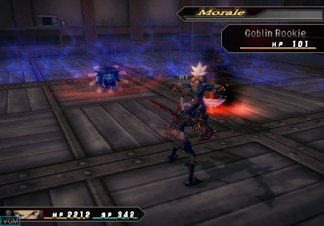 In-game screen of the game .hack//G.U. Vol. 3//Redemption on Sony Playstation 2