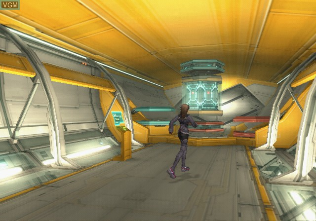 In-game screen of the game Xenosaga Episode III - Also sprach Zarathustra on Sony Playstation 2